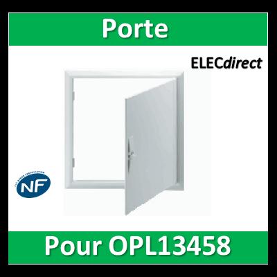 Schneider - Opale - Porte pour bac encastrement 2x13M - OPL13458