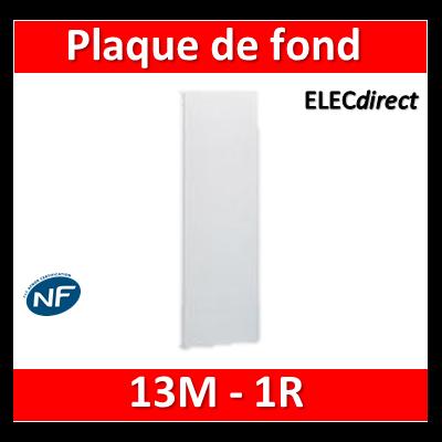 Legrand - Plaque de fond pour coffret ou rehausse 13M - 1R - 401351
