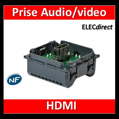 Legrand Céliane - Mécanisme Prise HDMI Audio/video Type A - 067317