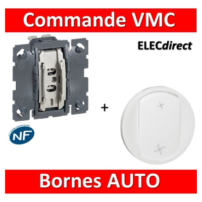 Legrand Céliane - Mécanisme + enjoliveur - Commande VMC - 067001+068061