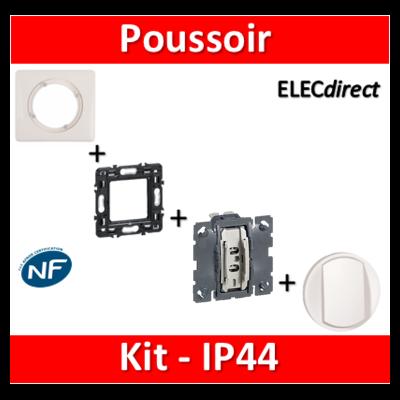 Legrand Céliane - Kit IP44 - Poussoir - complet