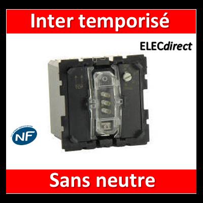 Legrand Céliane - Mécanisme inter temporisé sans neutre - 067051