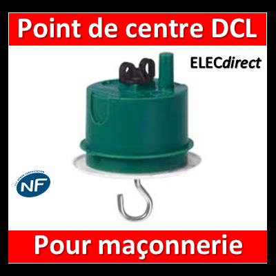 Legrand Batibox - Boîte à sceller - Couvercle DCL pour point de centre - 089237