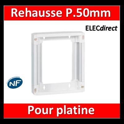 Legrand - Rehausse pour platine disjoncteur de branchement - 401380
