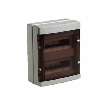 Digital Electric - Coffret électrique étanche - 2 rangées - 24 modules - IP55/IK08