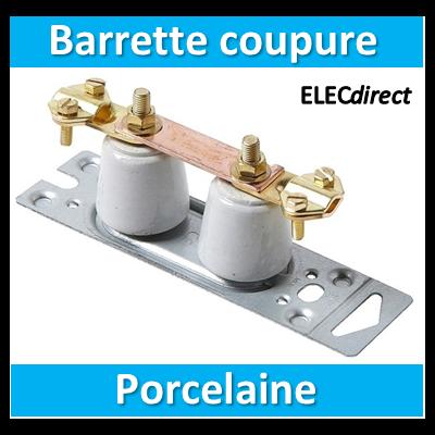 SIB - Barrette de coupure de terre porcelaine - 04388