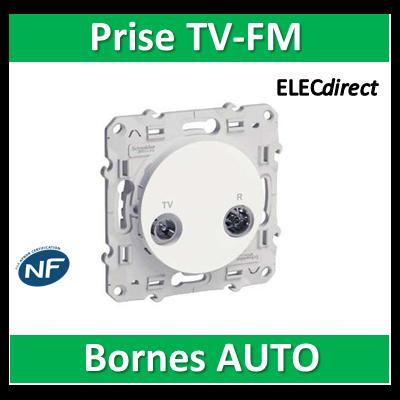 Schneider Odace - Prise TV-FM - s520451