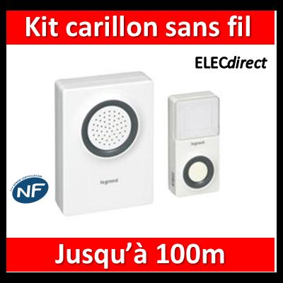 Legrand - Kit carillon radio 8V - 041611