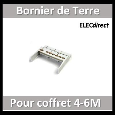 Digital Electric - Bornier de terre pour coffret 4-6M - 07191
