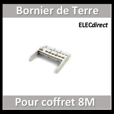 Digital Electric - Bornier de terre pour coffret 8M - 07192