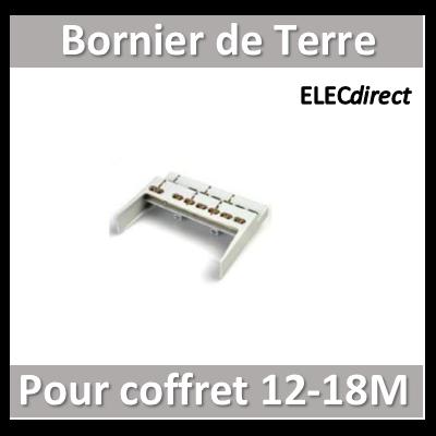 Digital Electric - Bornier de terre pour coffret 12M-18M - 07193