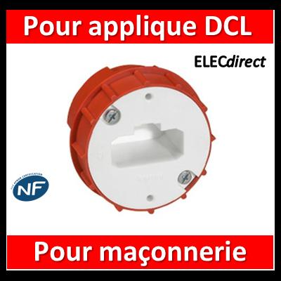 Legrand Batibox - Boîte à sceller - Couvercle DCL pour applique borne AUTO - 089204