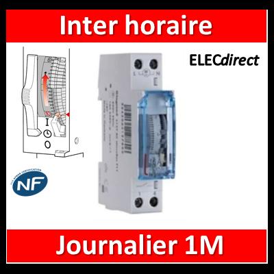Legrand - Interrupteur horaire journalier analogique - 412780