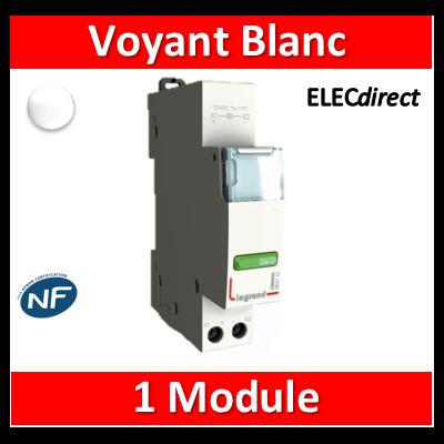 Legrand - Voyant Blanc 250V - LED - 412930