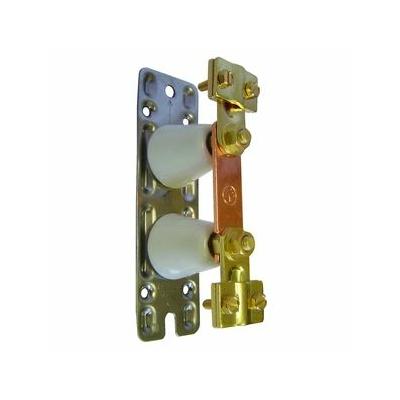 Barrette de coupure Cosga - platine métal 150x45 - 034388