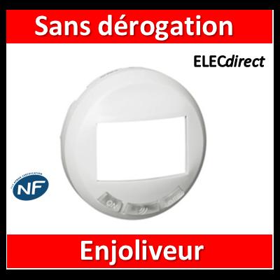 Legrand Céliane - Enjoliveur blanc écodétecteur sans dérogation - 068299