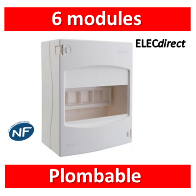 Legrand - Coffret cache-bornes 6 Modules - 001306