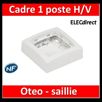 Legrand Oteo - Cadre saillie 1 poste - 086091