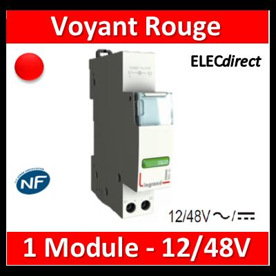Legrand - Voyant rouge - LED - 12/48V - 412922