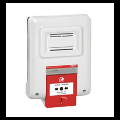 Legrand - Coffret d'alarme incendie type 4 à pile - 040551