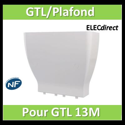 Rehau - Cofralis jonction Goulotte / plafond pour goulotte GTL 13 modules - 243454