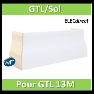 Rehau - Cofralis jonction Goulotte / sol pour goulotte GTL 13 modules - 243464