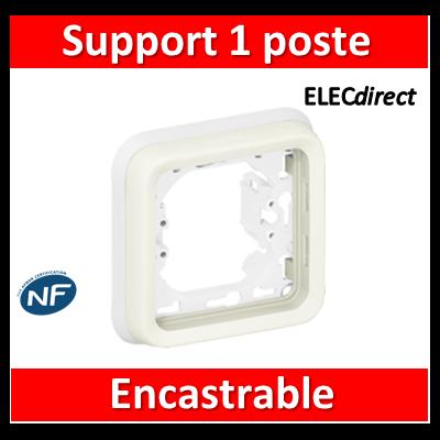 Legrand Plexo - Support encastrable pour Plexo composable - 1 poste - blanc - 069692