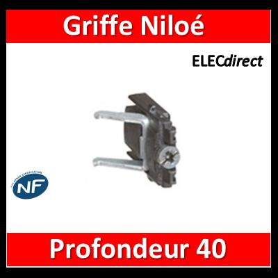 Legrand Niloé - Griffe rapido pour rénovation - prof.40 mm - 665099