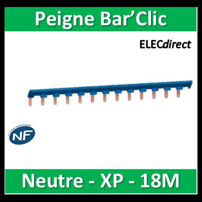 Schneider - Bar'Clic Peigne Neutre 104 pas de 9mm - sch14919