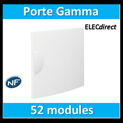 Hager - Porte opaque Gamma 52M pour GD413A - GP413P