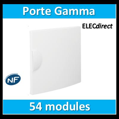 Hager - Porte opaque Gamma 54M pour GD318A - GP318P