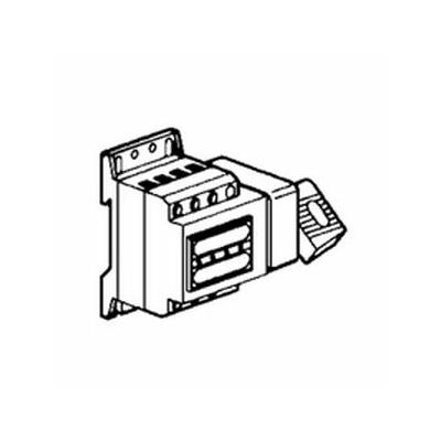 Legrand - Inter-sectionneur Vistop - 32 A - 4P - cde latérale - poignée noire - 022507