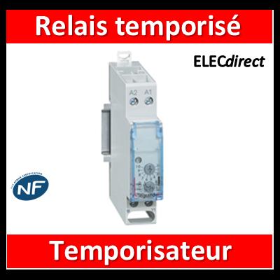 Legrand - Relais temporisé temporisateur à la fermeture - 004743