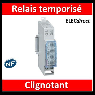 Legrand - Relais temporisé clignotant - 004742