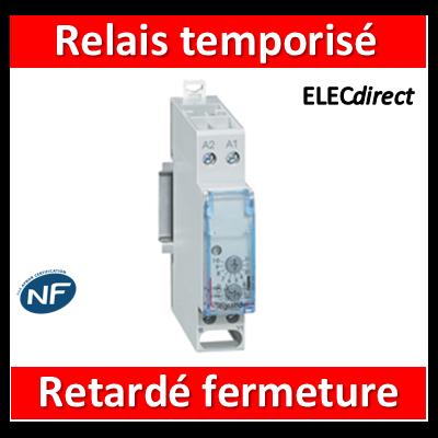 Legrand - Relais temporisé retardé à la fermeture - 004740