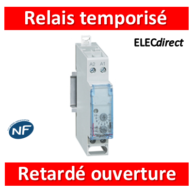 Legrand - Relais temporisé retardé à l'ouverture - 004741