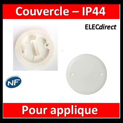 Legrand Batibox - Couvercle IP44 D.75 - pour applique - 089504