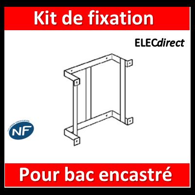 Legrand - Kit de fixation cloison sèche - pour bac d'encastrement GTL - 005190