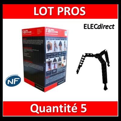 Ramspot - Boîte de 5 Protecteurs de downlight pour isolant en rouleau - 59206 x5