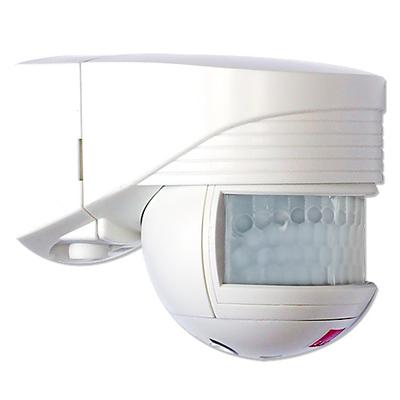 B.E.G - Détecteur de mouvement avec zone de détection 140° - Mural - Blanc - 91101