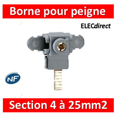 Legrand - Bornes de raccordement pour peigne universel - 404905