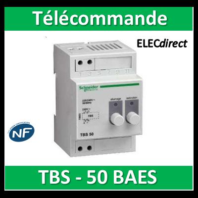 Schneider - Télécommande pour blocs de secours TBS 50 BAES - 15855