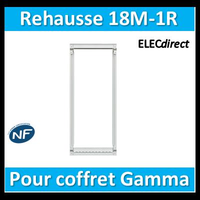 Hager - Réhausse pour GD118A - GR118AN
