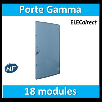Hager - Porte transp. Gamma 18 pr GD118A - GP118T