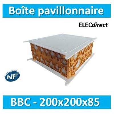 SIB - Boîte pavillonnaire BBC 200x200x85 - P32525