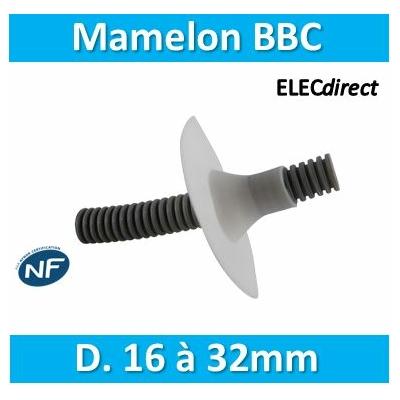 SIB - Mamelon BBC D. 16 à 32mm - P03250