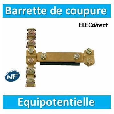 SIB - Barrette de coupure équipotentielle - P04390