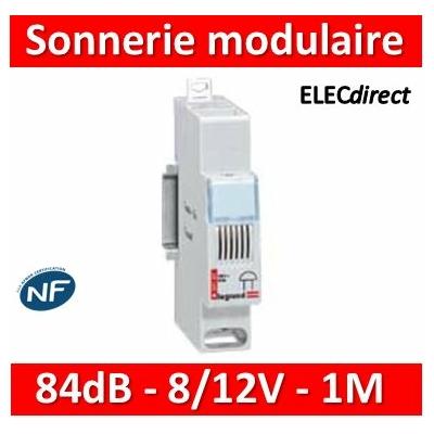 Legrand - Sonnerie modulaire - 8/12 V~ - 004101