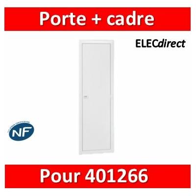 Legrand - Porte réversible avec cadre pour bac 401446 - 401456