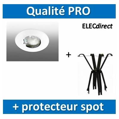 Aric - Spot Halogène - Salle d'eau 12V + protecteur spot laine de verre - 4095+59202